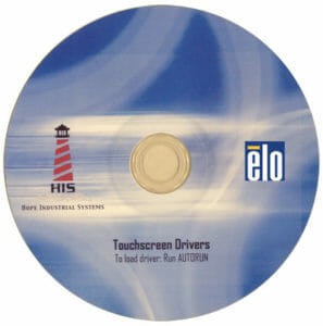 Elo Touchscreen Treiber-CD