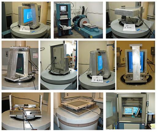 Umweltprüfung von Monitoren von Hope Industrial Systems