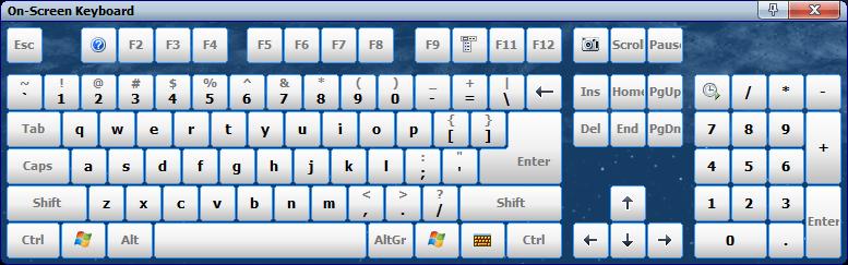 Comfort On-Screen Keyboard von Comfort Software