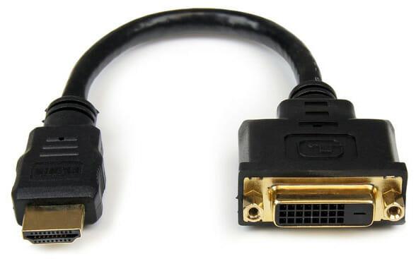Ein einfacher HDMI-zu-DVI-Adapter von StarTech.com