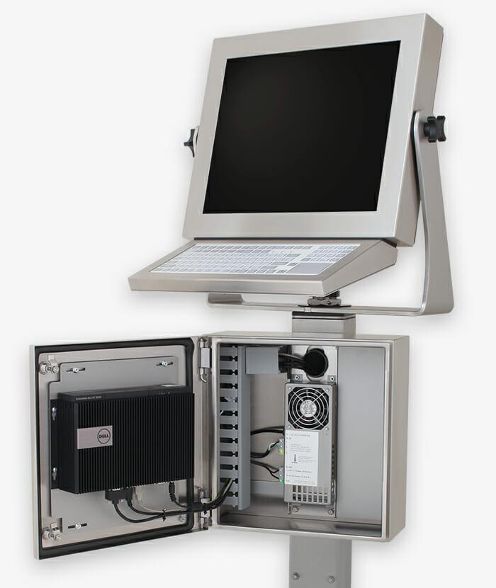 Industriegehäuse für Thin Client und PC mit kleinem Formfaktor, Story