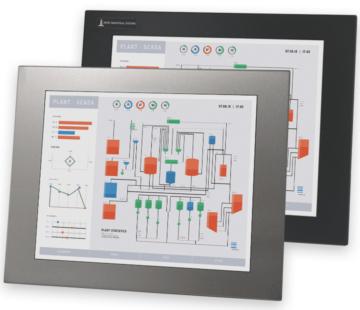 17-Zoll-Industrie-Einbaumonitore und robuste Touchscreens nach IP65/IP66