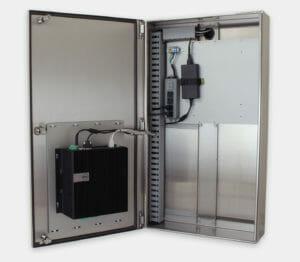 Industriegehäuse für handelsübliche/Industrie-PCs mit Dell 5000 montiert