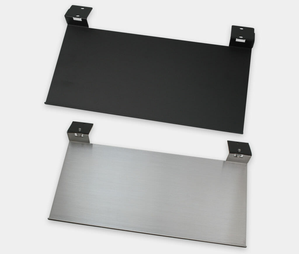 Industrie-Tastaturmontagefach für Monitore mit Universalhalterung