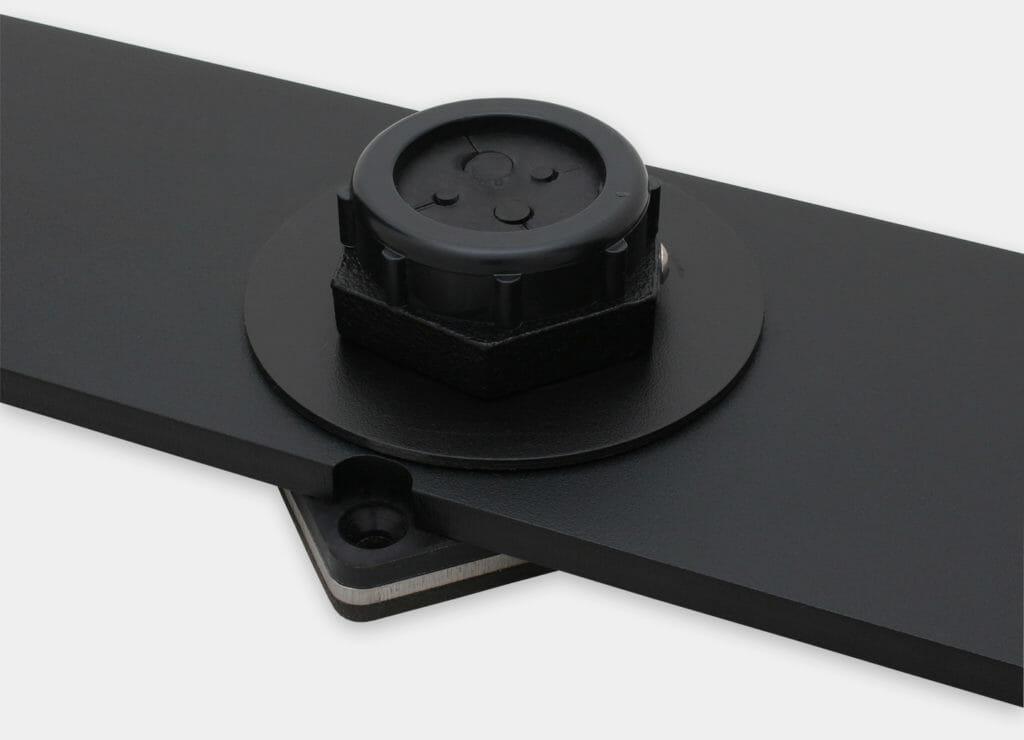 U-Halterungs-Tischmontagesatz nach IP20/IP54 für Monitore mit Universalhalterung