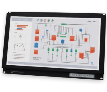 19,5-Zoll-Breitbild-Industrie-Rackmonitore und robuste Touchscreens nach IP20