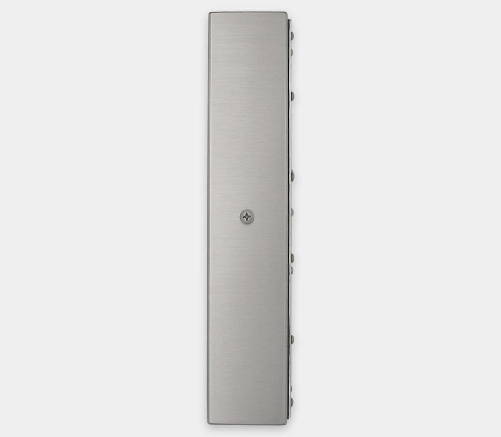 17-Zoll-Industriemonitore mit Universalhalterung und robuste Touchscreens der Schutzart IP65/IP66, Seitenansicht