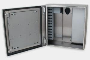 Gehäuseinnere ohne Netzteil oder Kühlung